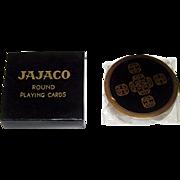 """Ace """"Jajaco"""" Round Playing Cards, """"Star Trek"""" Cards, c.1962"""