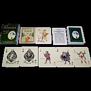 "Carta Mundi ""Kyd's Pickwick Playing Cards,"" The Navarre Society Publisher, c.1982"