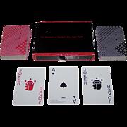 "Double Deck Piatnik ""Takenobu Igarashi"" Playing Cards, Museum of Modern Art Publisher, Takenobu Igarashi Designs, 1985"