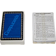 """Compucard, Inc. """"Compucards"""" Playing Cards, Binary Values, S.G. Pitroda Designs, c.1983"""