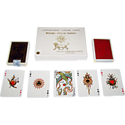 "SOLD Double Deck Fournier ""Historic Iranian Designs"" Playing Cards, V. Romanowski de Boncz"