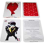 "Boom-Planeta ""Edland Man"" Oversize Playing Cards, Uitgeverij Focus Publisher, Edland Man Photographs/Designs 1994"
