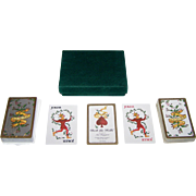 "Carpe Diem Games ""Deck the Halls"" Playing Cards, Maker Unknown, Ann Boyajian Designs"