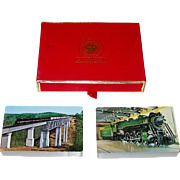 """Double Deck Brown & Bigelow """"Southern Railway"""" Railroad Playing Cards, """"Big John"""" and"""