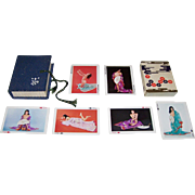 "SOLD Nintendo ""Morozoff"" Pin-Up Playing Cards, c.1960's (?)"