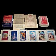 "Waddington ""Crown the Queen"" Card Game, Coronation of Queen Elizabeth, Elaine Burton Inven"