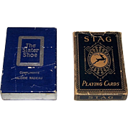 "2 Decks Canada Playing Cards, $20 ea.: (i) International Playing Card Co. (Canada USPC) ""The"