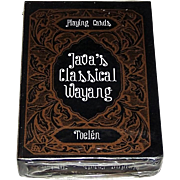 "Toelen ""Java's Classical Wayang"" Playing Cards, c.2000"