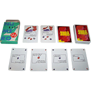 "Kaos, Moutarde, Proverbe, Provox ""KAOS Revue No. 4"" Playing Cards, Self-Published, Jean-Bl"