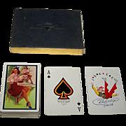 "Brown & Bigelow ""Sylvania Electric"" Pin-Up Playing Cards, Gil Elvgren Designs, c.1948"