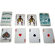 """Kenya Litho, Ltd. """"Karata"""" Playing Cards, Ines May-Publicity Publisher, c.1970"""