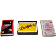 "3 Decks Country Music Playing Cards, $10/ea.: (i) Scotco – Hello Darlin ""The Best of Count"