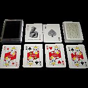 """Nintendo """"Nippon Beer"""" Playing Cards (52/52, 1J), """"Gambrinus – God of Beer"""" Joker, c"""