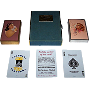 Double Deck USPC Congress Glamour/Pin-Up Playing Cards, Zoe Mozert Designs (?), c.1948