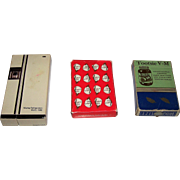 "3 Decks U.S. Advertising Playing Cards, $15/ea.: (i) B&B ""Tootsie V-M"", c.1940s; (ii) B&B"