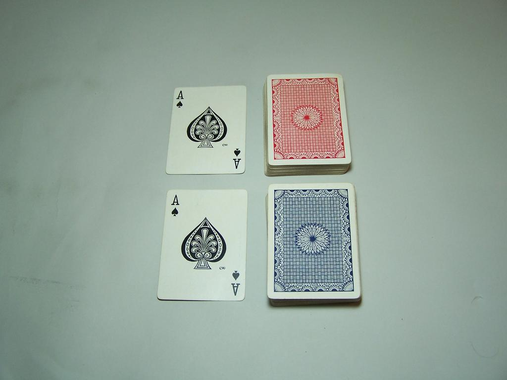 Double Deck Atlantic Playing Cards (USPC), c.1910