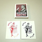 """""""Oliver North Pack of Lies"""" Playing Cards, Created by """"Clean Up Congress,"""" c.199"""