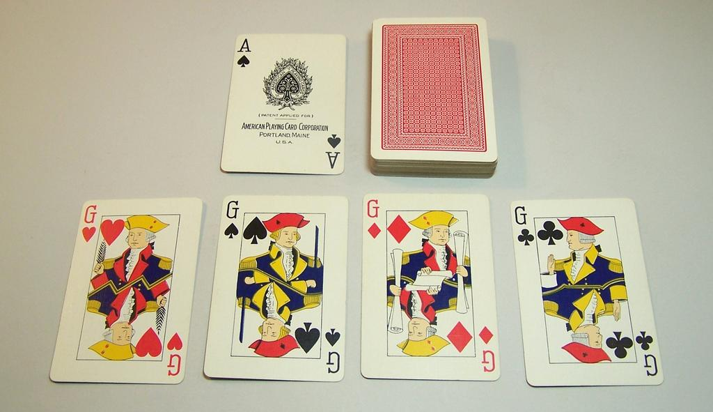 "American Playing Card Corporation ""George Washington"" Playing Cards, c.1934"