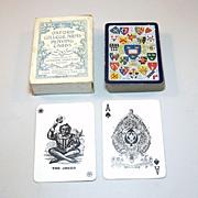 "Goodall (De La Rue) ""Oxford College Arms"" Playing Cards, Joseph Vincent Publisher, c.1925"
