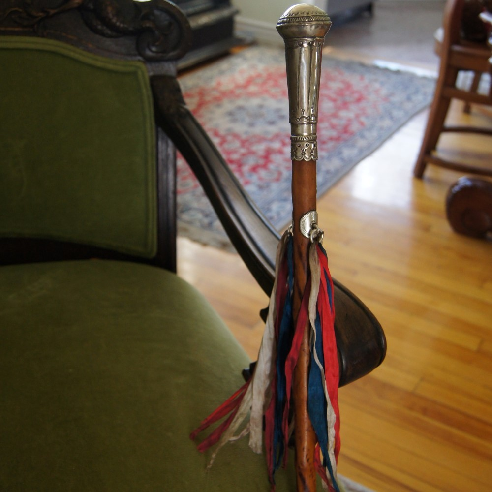 1880's Pueblo Indian Governor's Presentation Cane