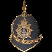 1901 Boer War Oxfordshire Infantry Officers Shako