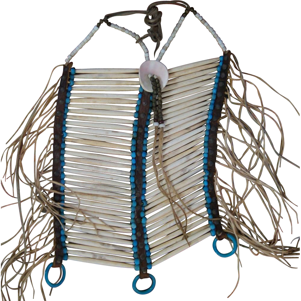Northern Plains Bone Hair Pipe Breastplate 1870's
