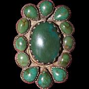 Navajo Cluster Ring