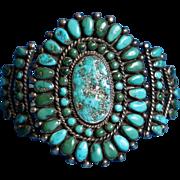 Zuni Cluster Bracelet 1940's