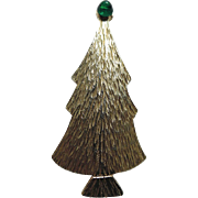 REDUCED Ultracraft Large Slender Christmas Tree Pin ~ RARE