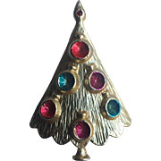 BJ Signed (Beatrix) Mid-Century Ornaments Christmas  Tree Pin ~ Book Piece