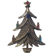 REDUCED BJ (Beatrix) Candle Garland Christmas Tree Pin ~ Book Piece