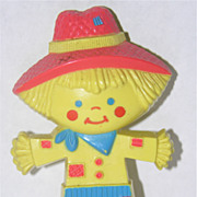 SALE Avon 1975 Scarecrow Pin Pals Fragrance Glace