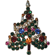 REDUCED St. Labre Garland Christmas Tree Pin, Book Piece
