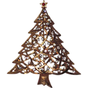 J.J. Webby Garland Christmas Tree Pin
