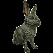 REDUCED Antique Cast Iron Rabbit Bank