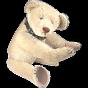 SALE White Hecla American teddy bear, ULTRA RARE