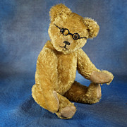 SOLD ANTIQUE Schuco Unique and Extremely Rare JEWEL EYES Teddy Bear