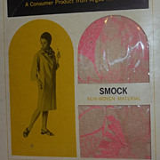 Mid Century Modern VintageOld Stock new in Box  PAPER Coat Painting Smock Dress Cover UP Mad Men Era Mod