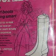 Mid Century Modern Nancy Sinatra Era Boots Booflettes Mod 60s Sixties Dead Stock