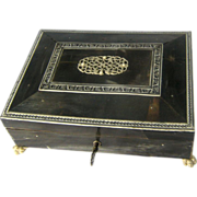 SALE Anglo Indian Horn Box – Vizagapatam – Circa 1890
