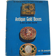 SOLD Antique Gold Boxes by Berrry-Hill