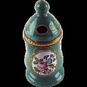 C 1780 Battersea Bilston Enamel Mustard Pot
