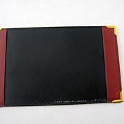 Vintage Mark Cross Leather Note Paper Folio Holder