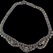 Vintage Sparkly Rhinestone Necklace