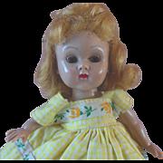 Vintage Vogue Ginny Doll Straight Leg Walker in Original Dress