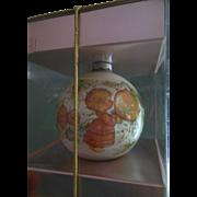 1975 Hallmark Heavenly Days Glass Christmas Ornament Mary Hamilton Charmers