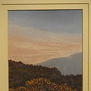"John Woodfull  ""Sligo Bog"" and ""Wicklow Gorse""  2 paintings!"