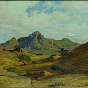 Anna A. Hills   The Trail-Ajo, Arizona 1915