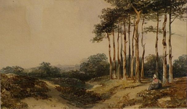 "George Sidney Sheperd- 1784-1862)  ""Hampstead"""