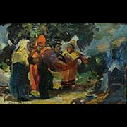 """The Rendezvous""  by Merlin Enabit"